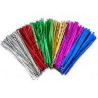 Twist Tie Assorted Colours 75 X4mm