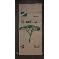 Charcoal Bag Woven Pp Bopp Lam 5kg Printed