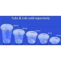 Tub Pet Rt70 Clear - 250ml